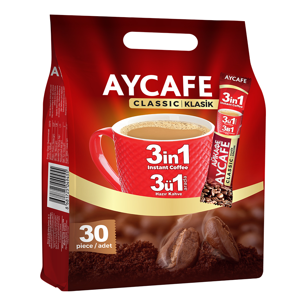 Aycafe 3in1 Instant Coffee In Sachets
