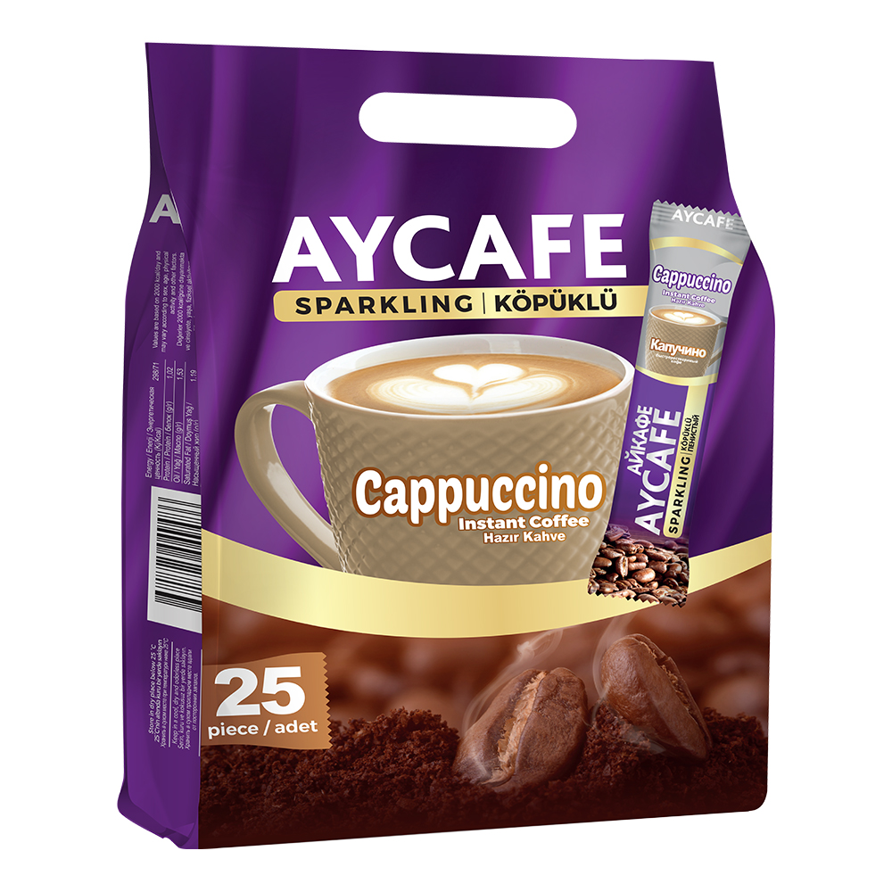 Aycafe Cappuccino Instant Coffee In Sachets