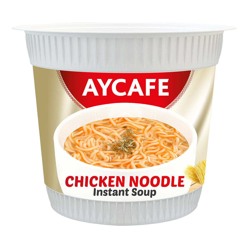 Aycafe Chicken Noodle Instant Soup In Cup
