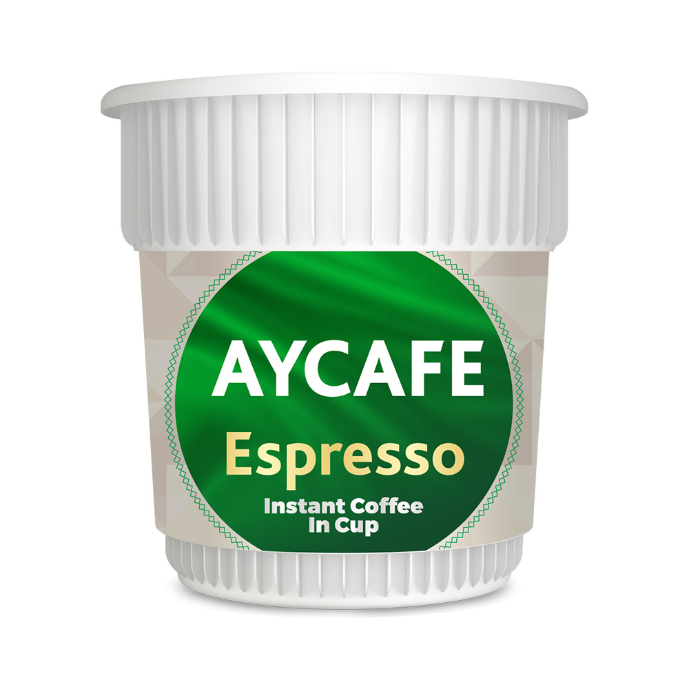 Aycafe Espresso Instant Coffee In Cup