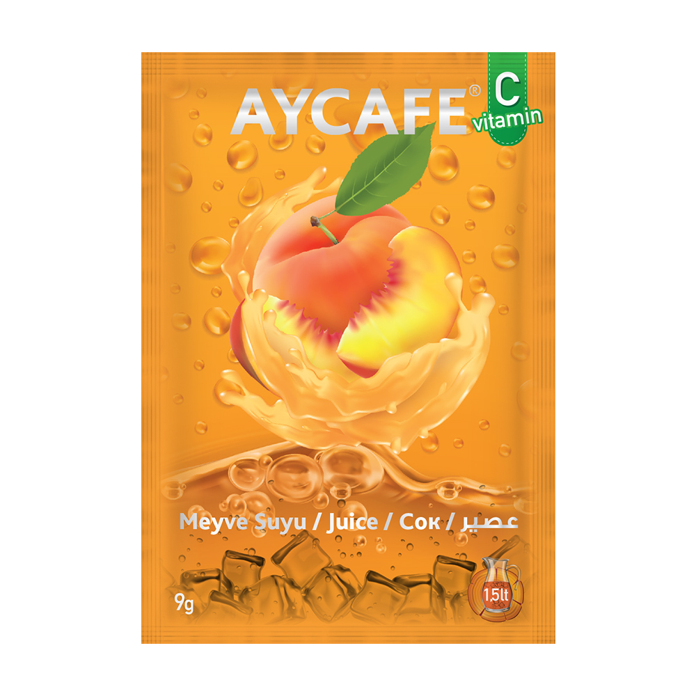 Aycafe Peach Flavoured Instant Drink