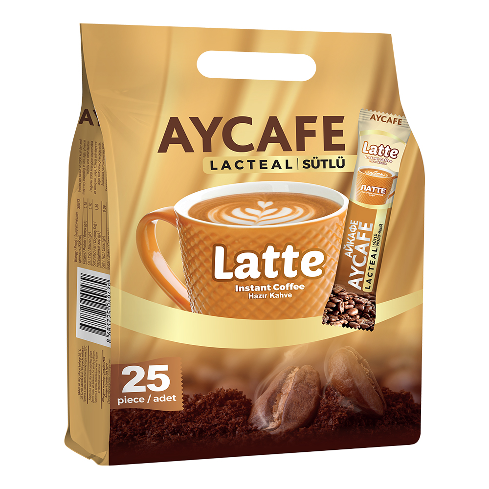 Aycafe Latte Instant Coffee In Sachets