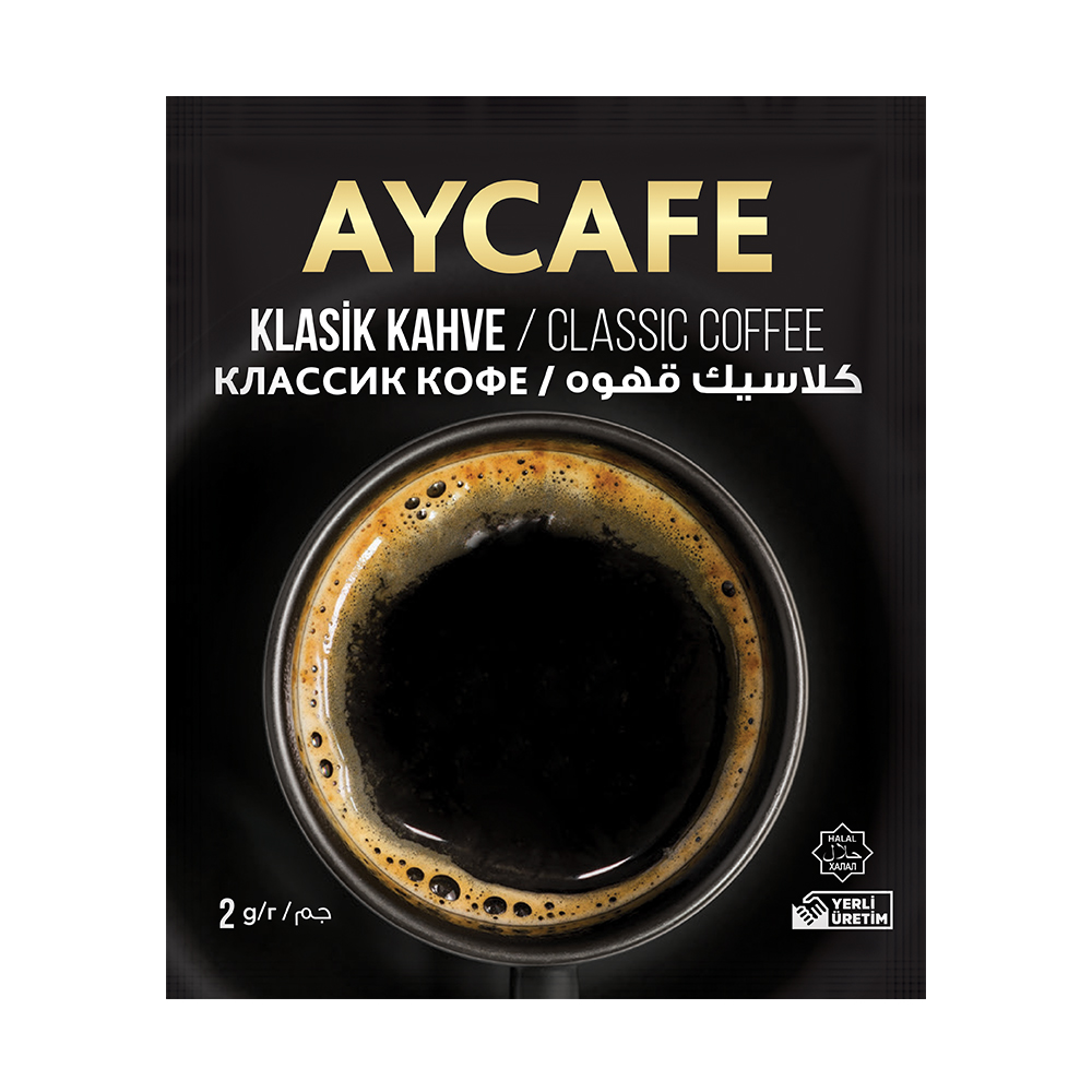 Aycafe Classic (2 gr) Instant Coffee In Sachets